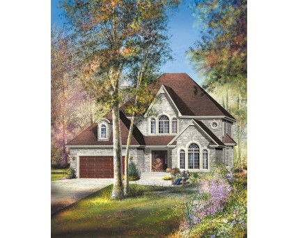 Two-storey house - 20822