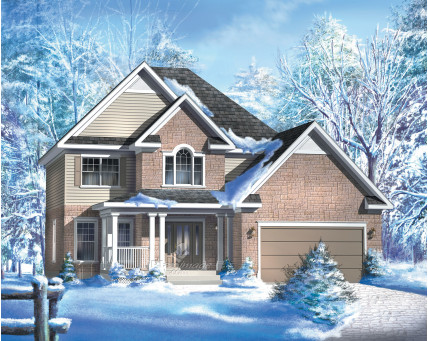 Two-storey house - 20842