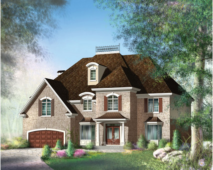 Two-storey house - 20904