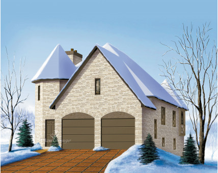 Two-storey house - 20930