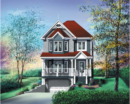 Two-storey house - 20989