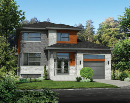 Two-storey house - 21003
