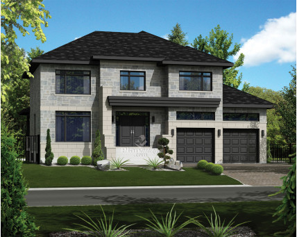 Two-storey house - 21031