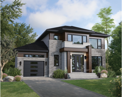 Two-storey house - New models -