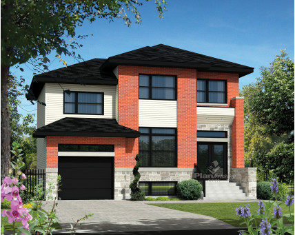 Two-storey house - 21093