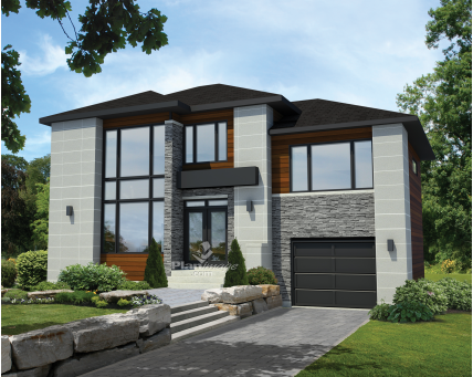 Two-storey house - 21113