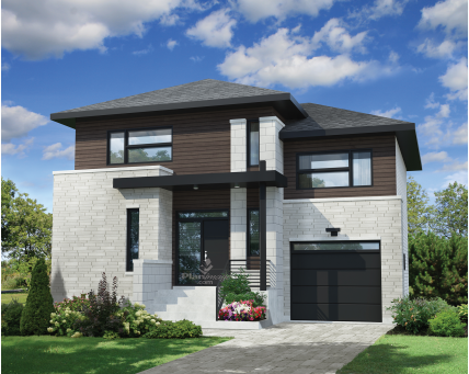 Two-storey house - 21114
