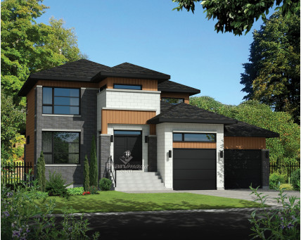 Two-storey house - 21123