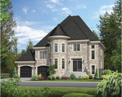 Two-storey house - 21130