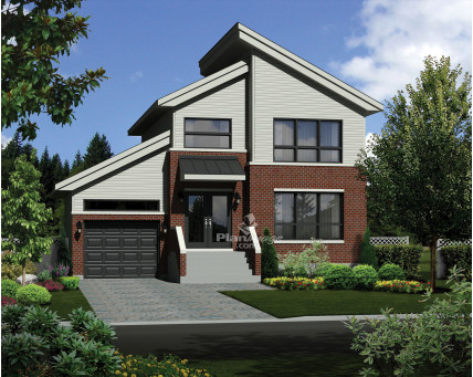 Two-storey house - 21131