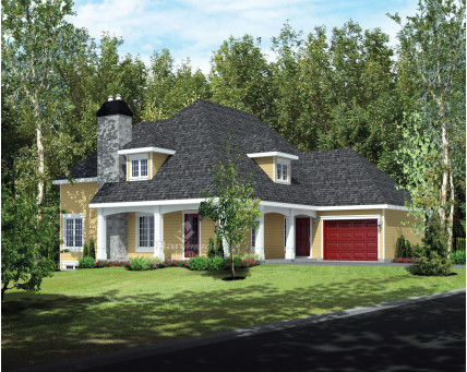 Two-storey house - 21132