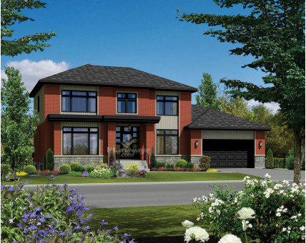 Two-storey house - 21140