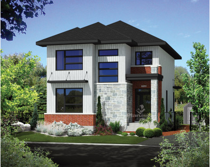 Two-storey house - 21142