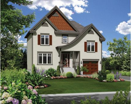 Two-storey house - 21150