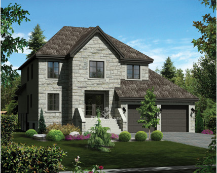Two-storey house - 21151