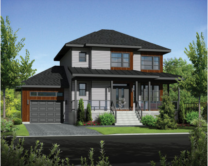 Two-storey house - 21182