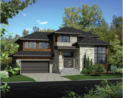 Two-storey house - 21212