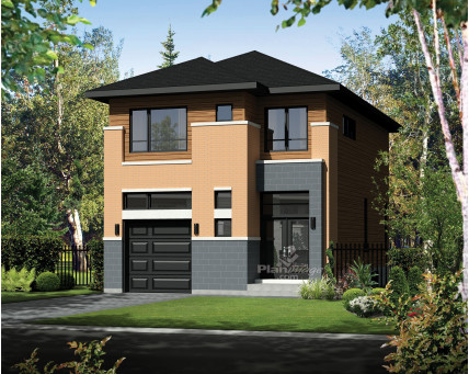 Two-storey house - 21222