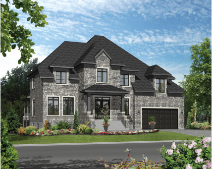 Two-storey house - 21250