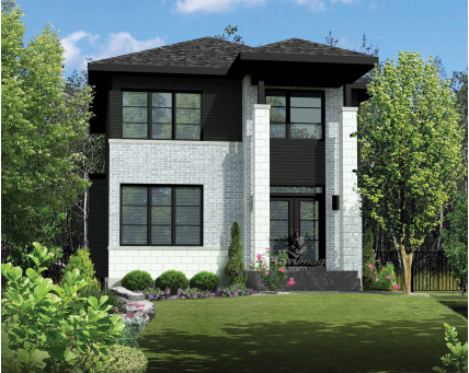 Two-storey house - 21332