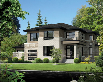 Two-storey house - 21343
