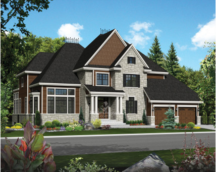 Two-storey house - 21350
