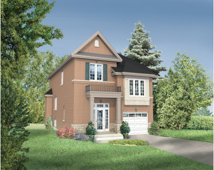 Two-storey house - 21359