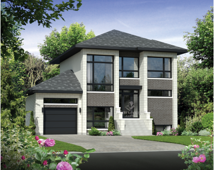 Two-storey house - 21433
