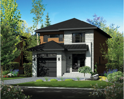 Two-storey house - 21442