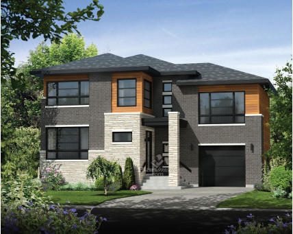 Two-storey house - 21453