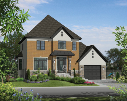 Two-storey house - 21461