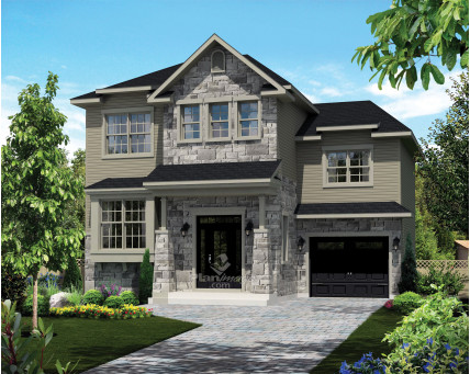 Two-storey house - 21472
