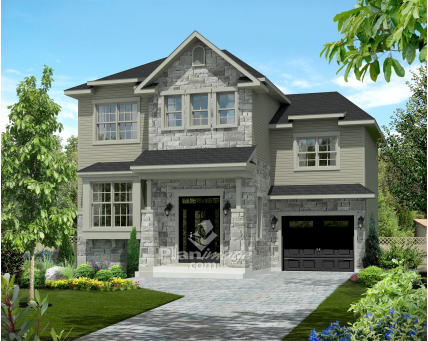 Two-storey house - 21492