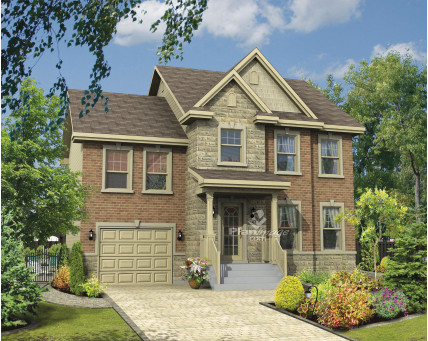 Two-storey house - 21529