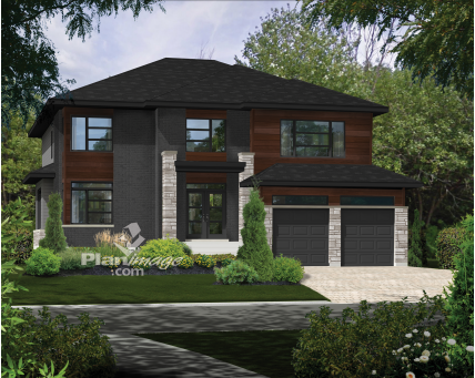 Two-storey house - 21556
