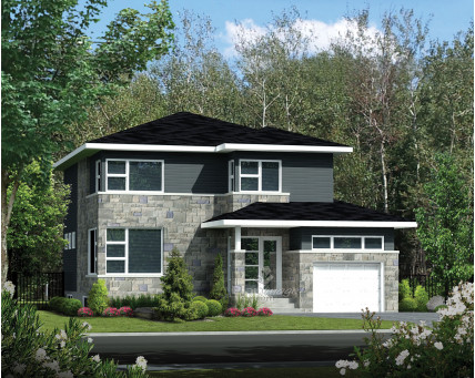 Two-storey house - 21562