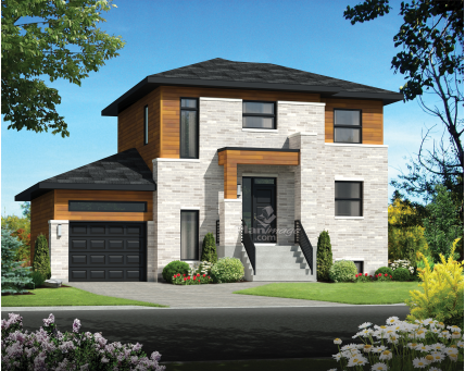 Two-storey house - 21563