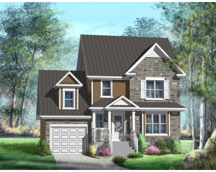 Two-storey house - 21564