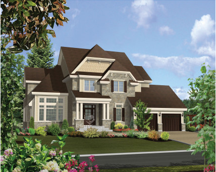 Two-storey house - 21569