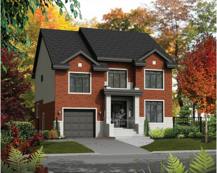 Two-storey house - 21580