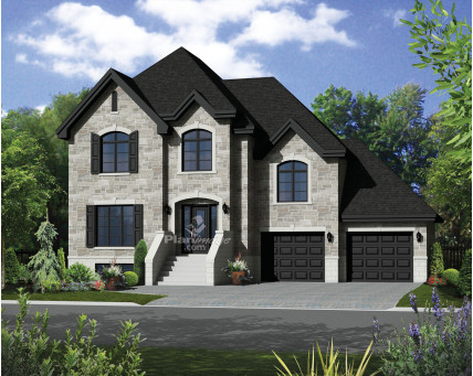 Two-storey house - 21610