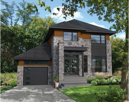 Two-storey house - 21636