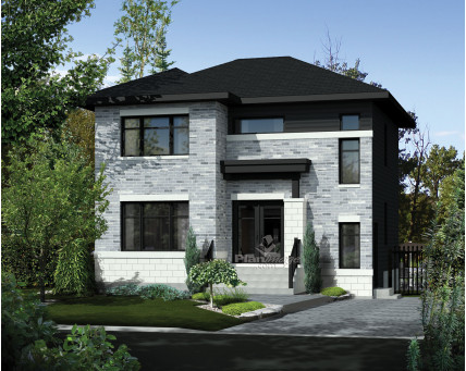 Two-storey house - 21662