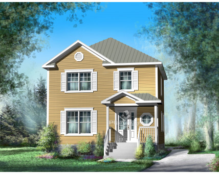 Two-storey house - 21674