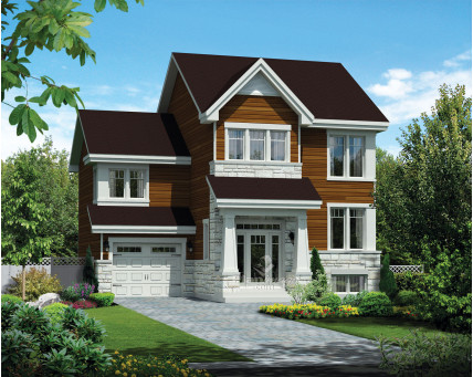 Two-storey house - 21682