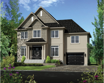 Two-storey house - 21692