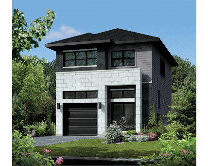 Two-storey house - 21702