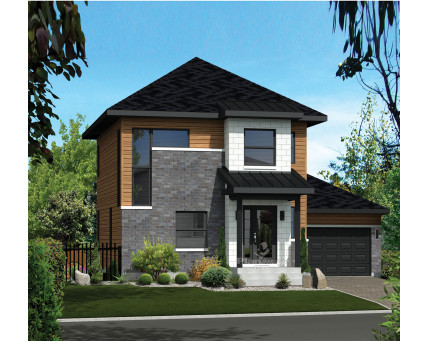 Two-storey house - 21723