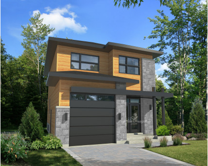 Two-storey house - 21774