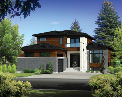 Two-storey house - 21783